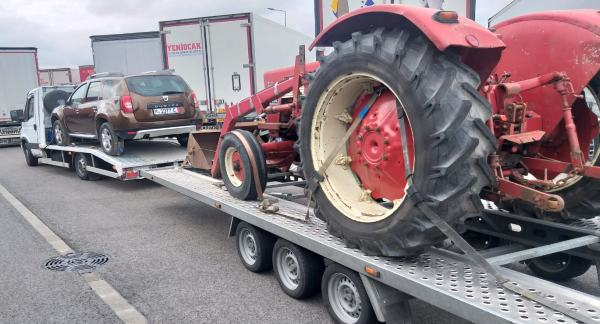 Transport Utilaje Agricole Transportam Utilaje Agricole, Masini Lovite, Etc